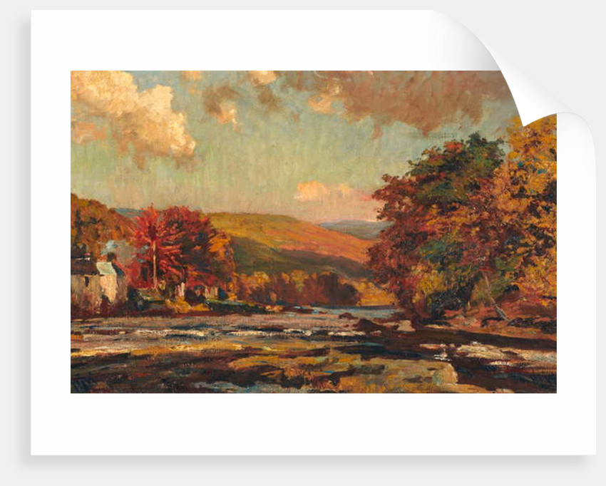 Llangollen, 1910 by Henry Joseph Wood