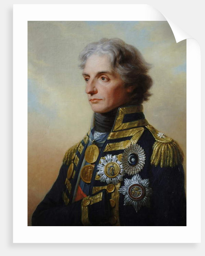 Lord Nelson, 1800 by Friedrich Heinrich Fuger