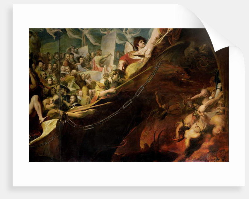 Elysium, or the State of Final Retribution by James Barry