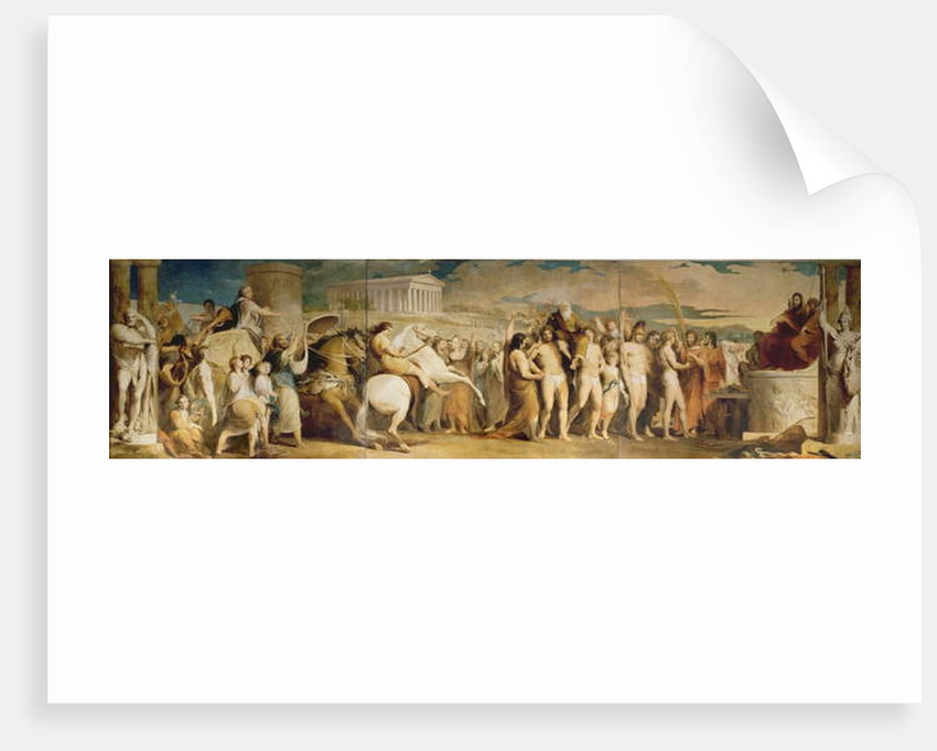 Crowning the Victors at Olympia, third in the series 'The Progress of Human Culture and Knowledge', c.1777-84 by James Barry