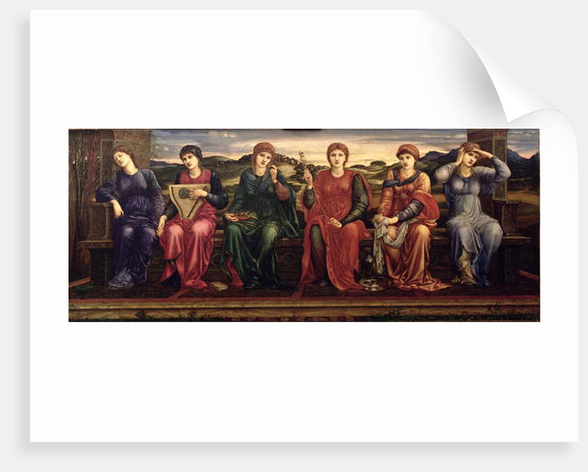 The Hours, 1870-82 by Edward Coley Burne-Jones
