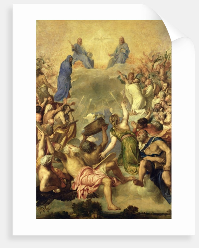 The Holy Trinity, 1553/54 by Titian