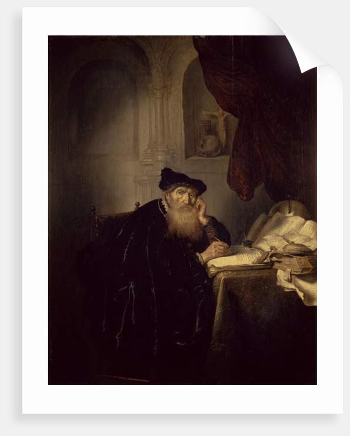 A Philosopher, 1635 by Salomon Koninck