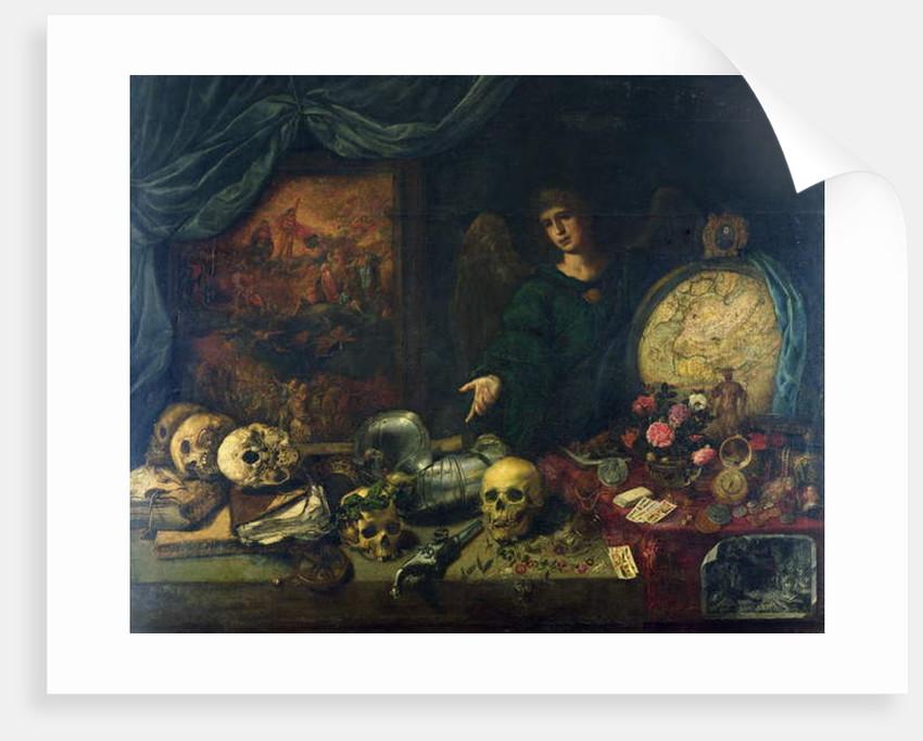 Allegory of Vanity, 1650-60 by Antonio Pereda y Salgado
