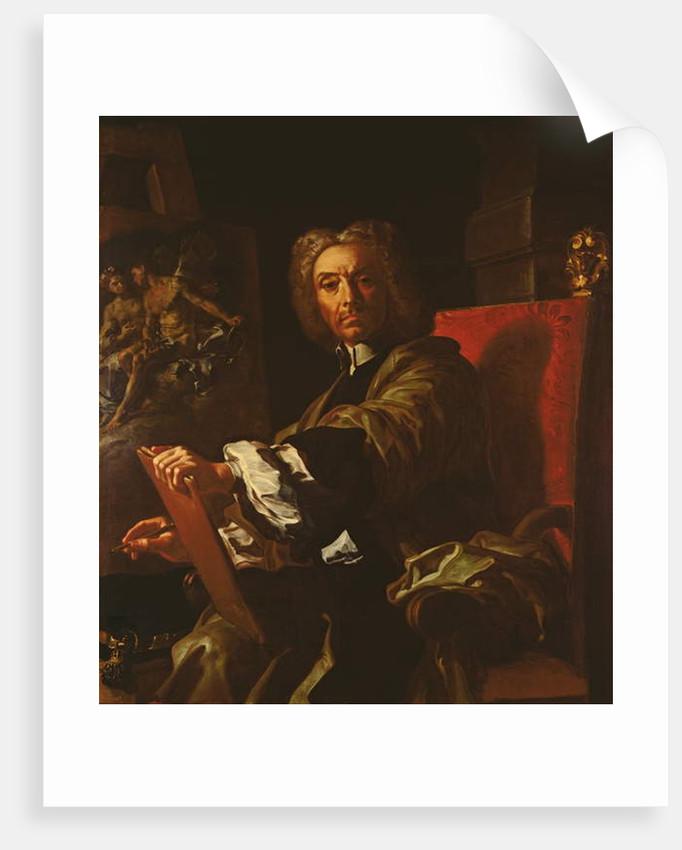 Self Portrait, 1730-31 by Francesco Solimena