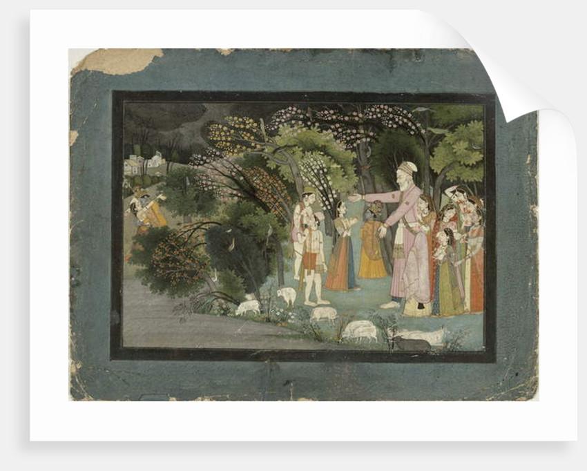 51.207/28 Nanda asking Radha to escort Krishna home by Indian School
