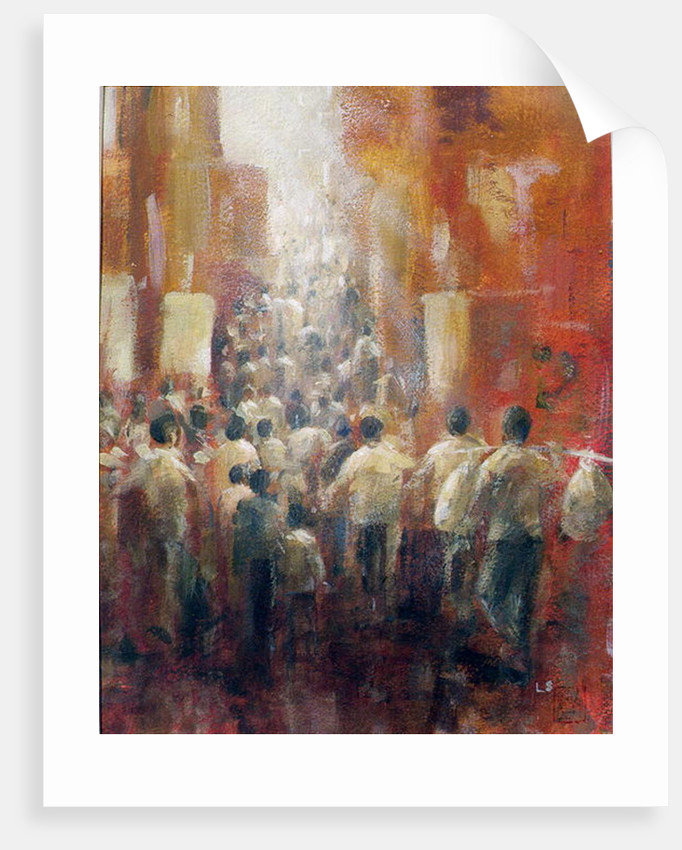 Chinese Street by Lincoln Seligman