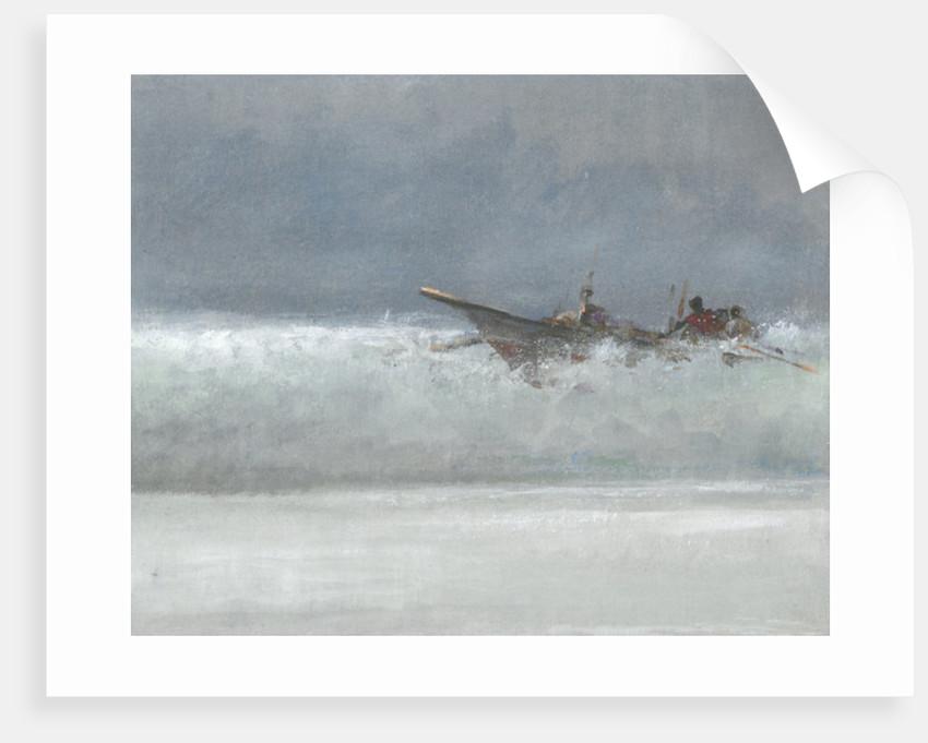 Breaking the Surf, Sri Lanka by Lincoln Seligman