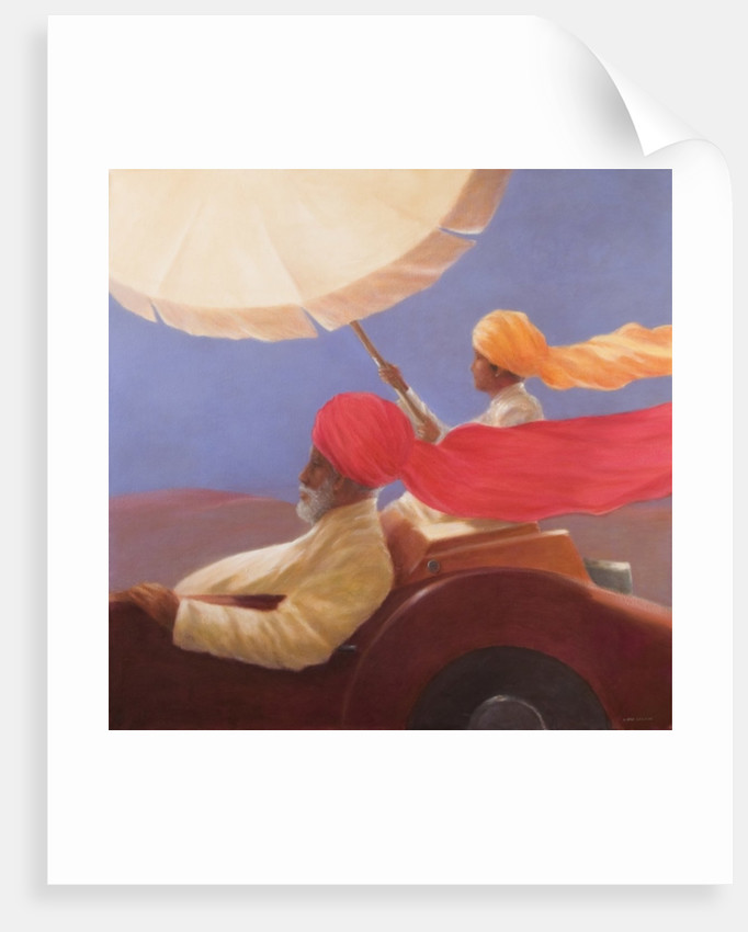Maharaja at Speed by Lincoln Seligman