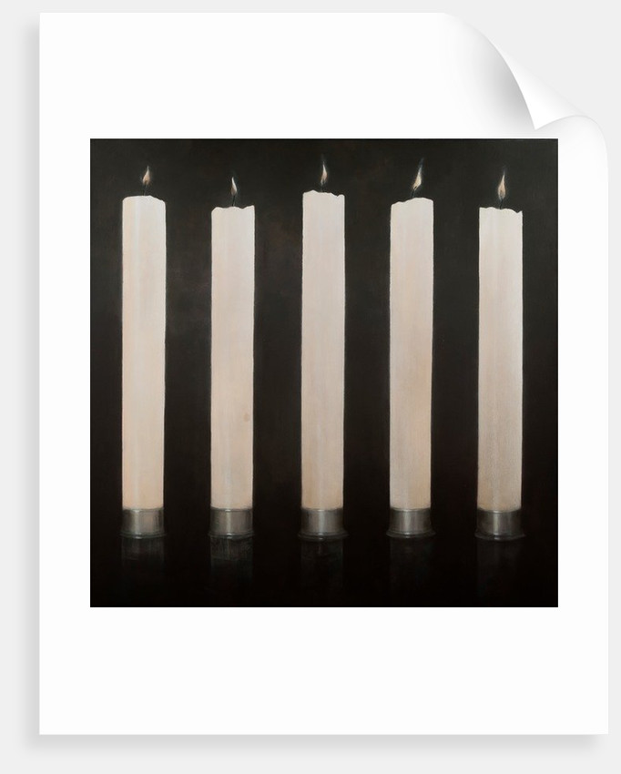 Five Candles, Sri Lanka by Lincoln Seligman