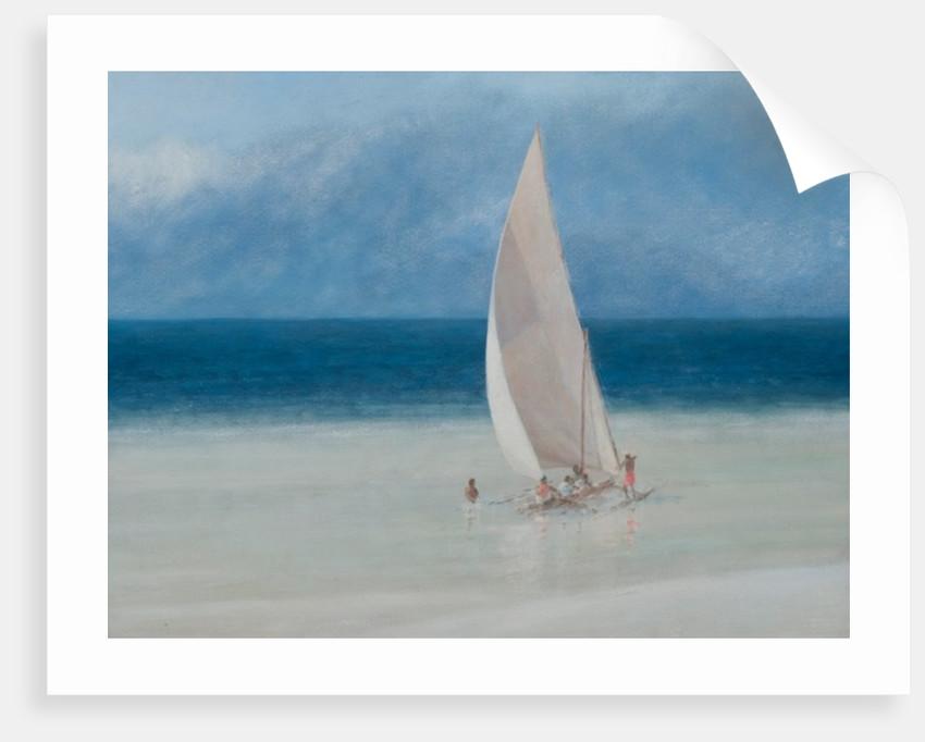 Fishermen, Kilifi by Lincoln Seligman