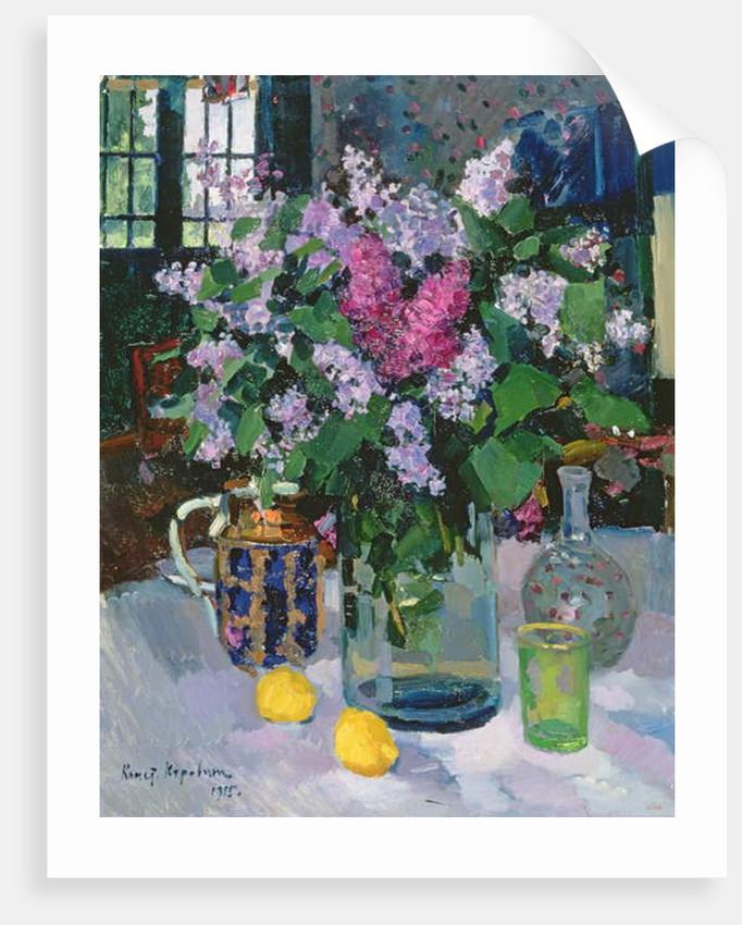 Lilacs, 1915 by Konstantin Alekseevich Korovin