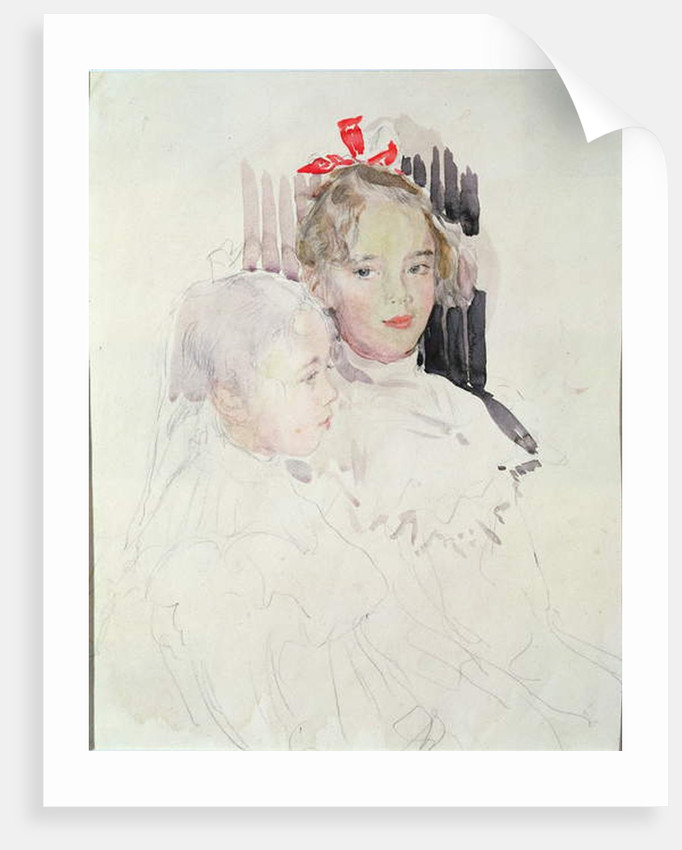 The Botkin Children by Valentin Aleksandrovich Serov