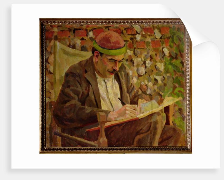 Portrait of John Maynard Keynes by Roger Eliot Fry