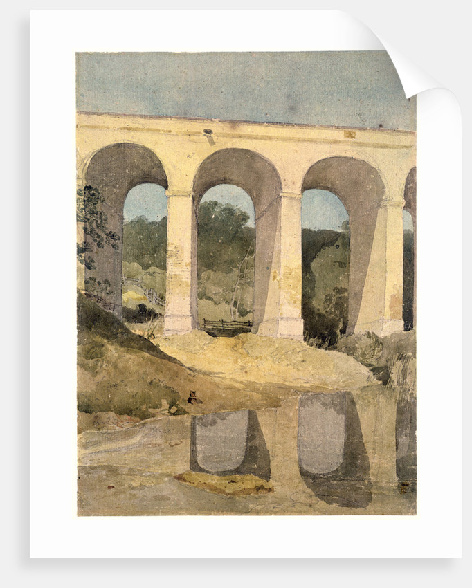 Chirk Aqueduct, 1806-7 by John Sell Cotman