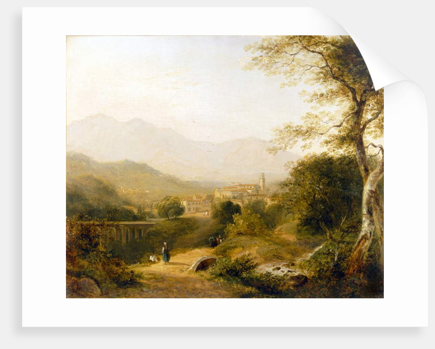 Italian Landscape by Joseph William Allen