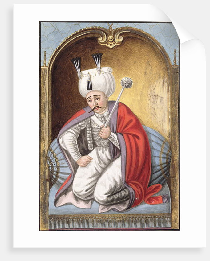 Selim I called 'Yavuz', the Grim, Sultan 1512-20 by John Young