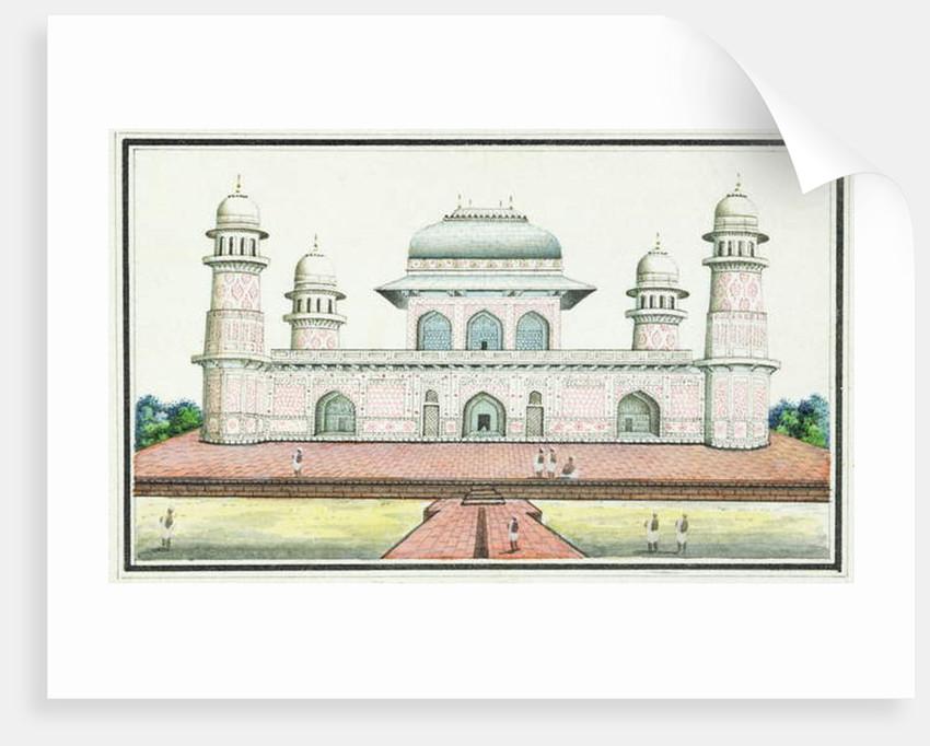 The Tomb of Itimad-Ud-Daula, near Agra, c.1830s by Agra School