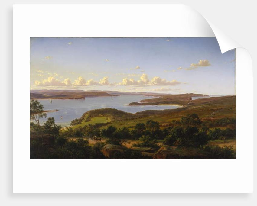 Sydney Heads, 1865 by Eugen von Guerard