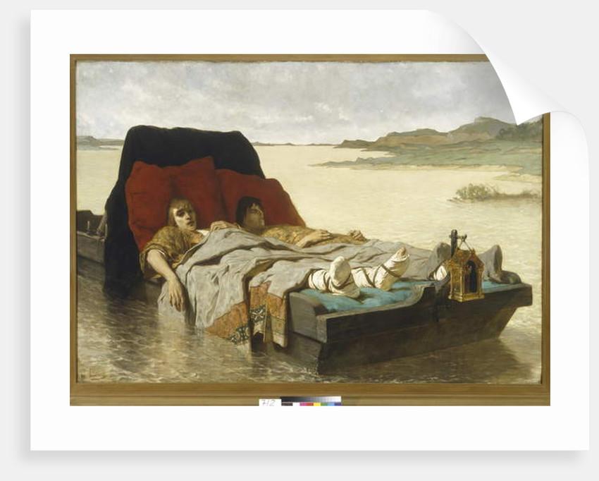 The Sons of Clovis II, 1880 by Evariste Vital Luminais