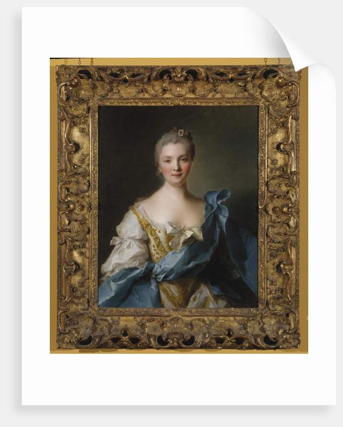 Madame de la Porte, 1754 by Jean-Marc Nattier
