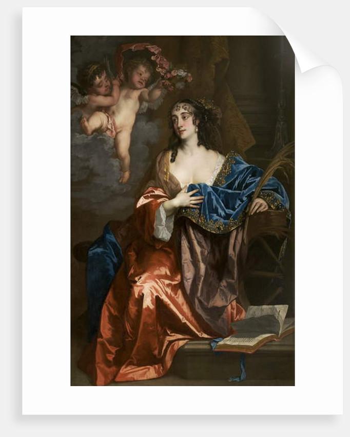 Eleanor Needham, Lady Byron, as Saint Catherine, c.1663-64 by Peter Lely