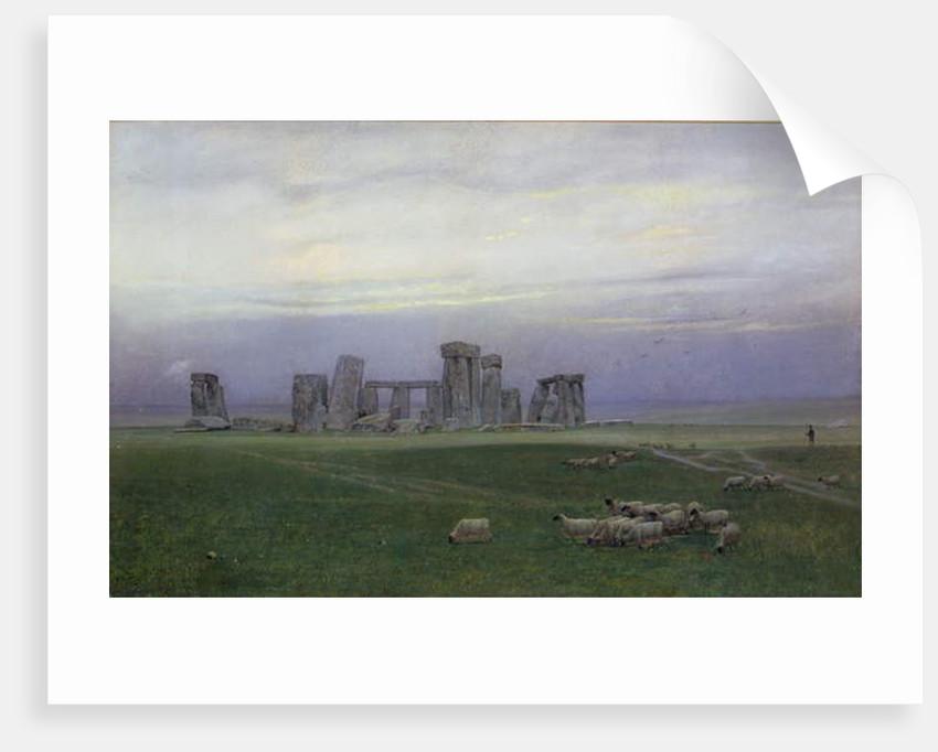 Stonehenge, c.1882 by William Trost Richards