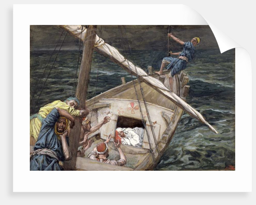 Christ Asleep During the Storm by James Jacques Joseph Tissot