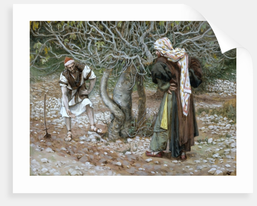The Barren Fig Tree by James Jacques Joseph Tissot