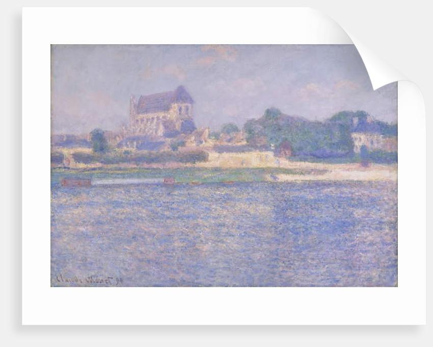 Church at Vernon, 1894 by Claude Monet