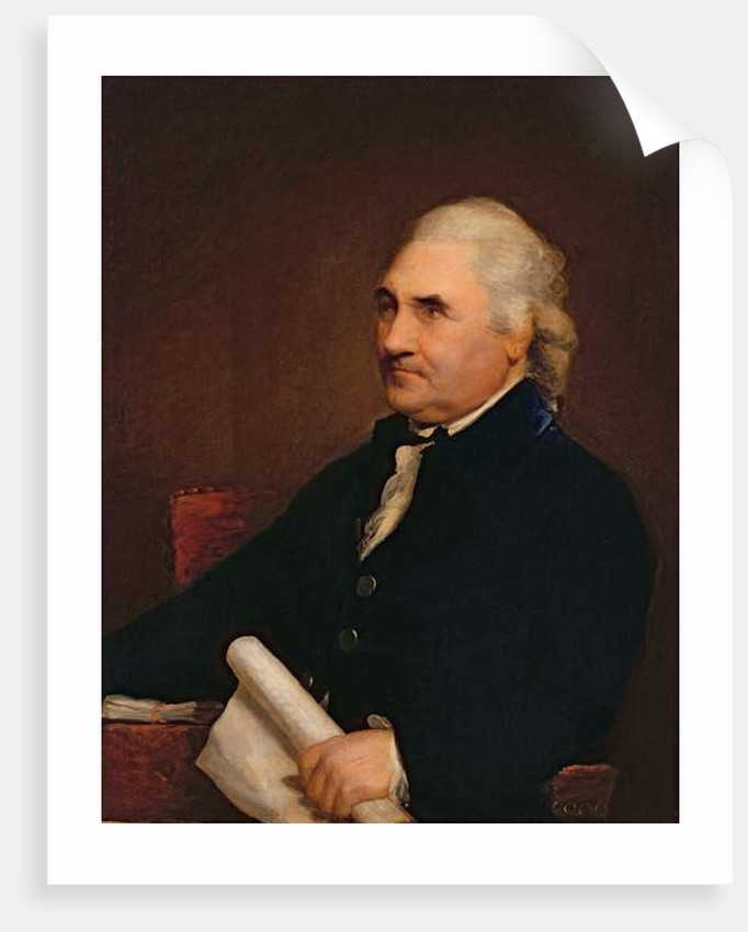 Colonel Isaac Barre, 1785 by Gilbert Stuart