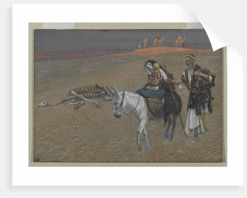 The Flight into Egypt by James Jacques Joseph Tissot