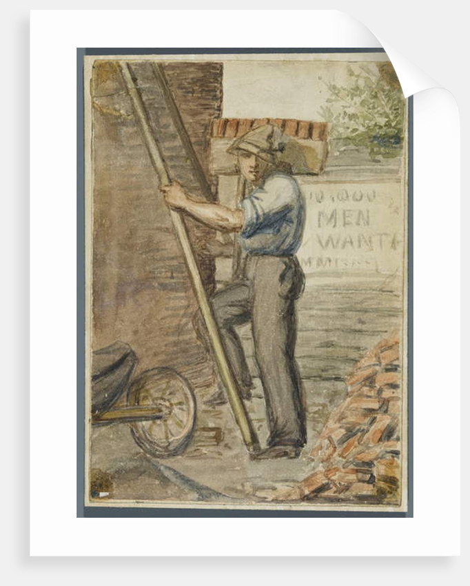 Brick Layer, 1864 by Karl L.H. Mueller
