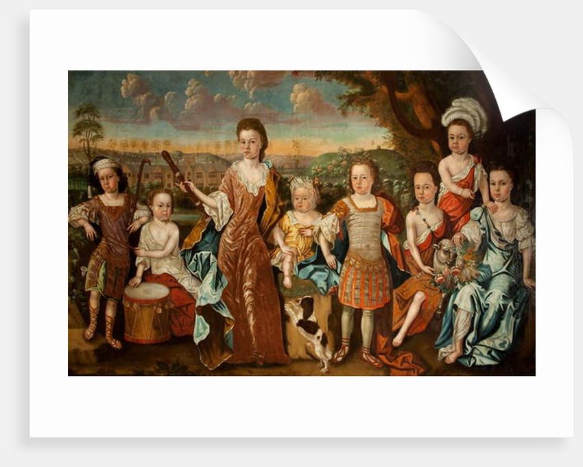 The Strachey Family, c.1710 by English School