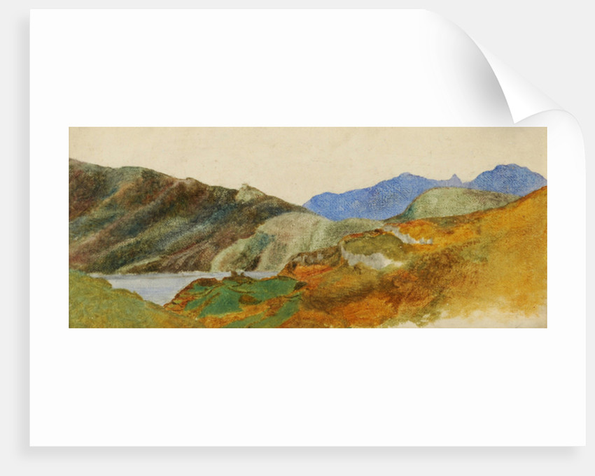 Mountain Landscape by George Frederick Watts