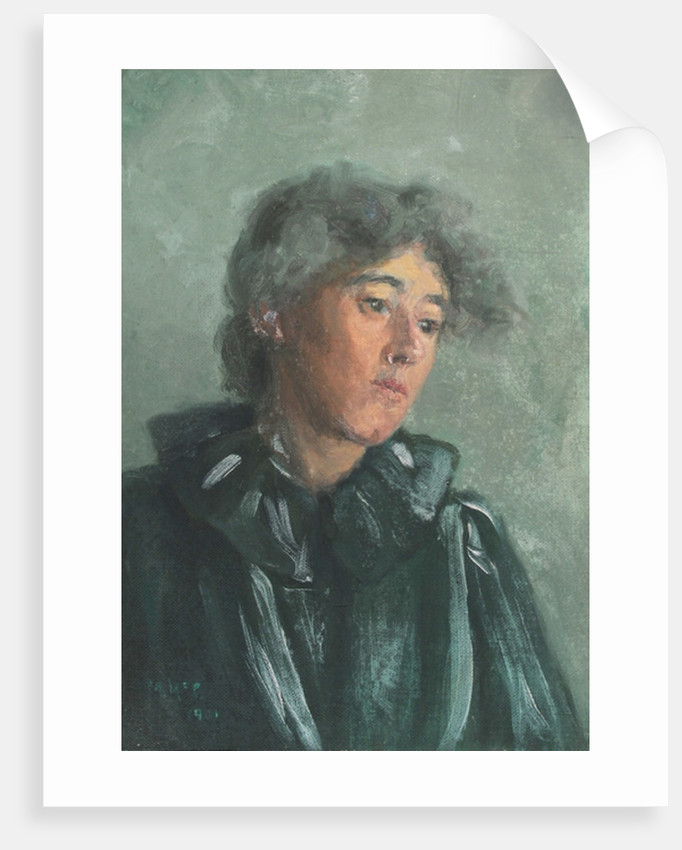 Portrait of Emily Bottomley, 1901 by Mary McCrossan