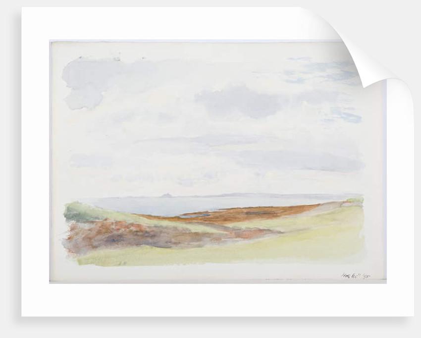 Holy Island, 1895 by Daniel Oliver