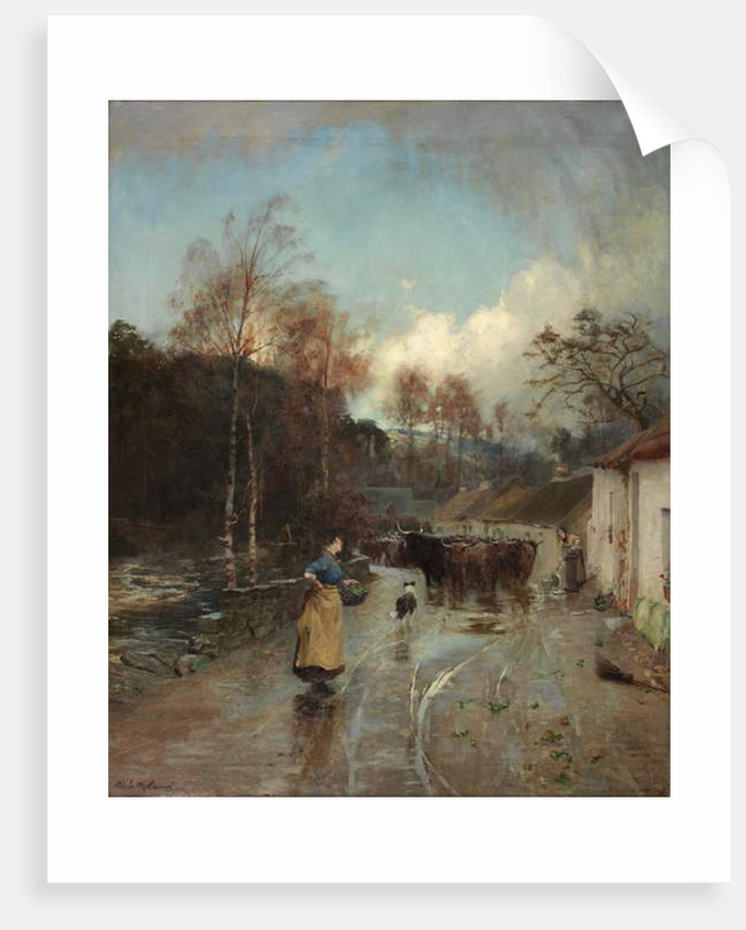 After Rain, 1889-1892 by Niels Moller Lund