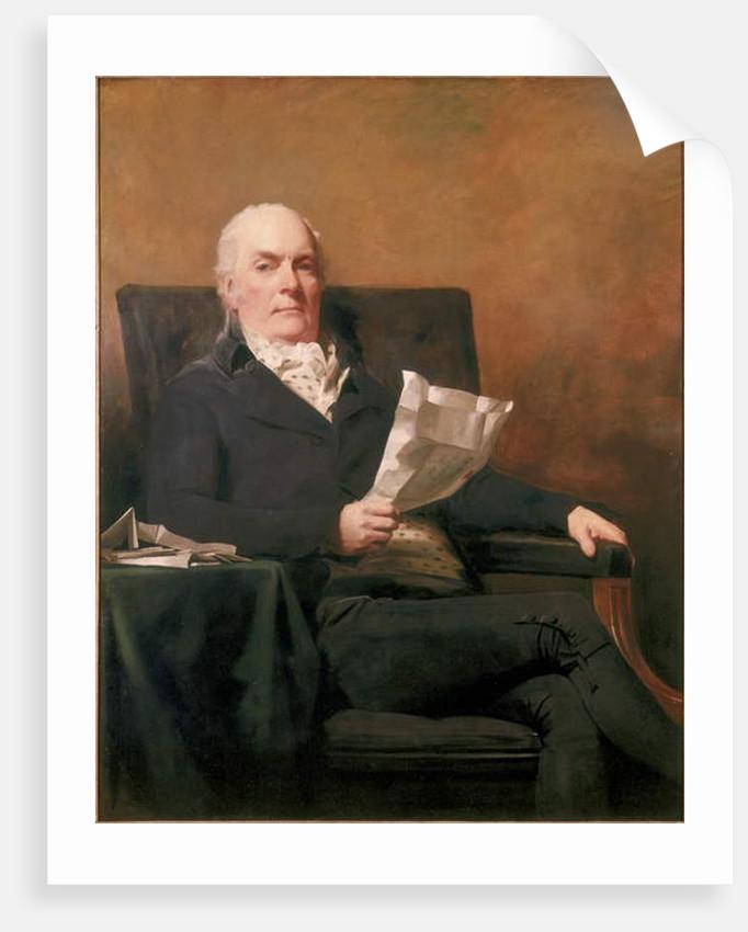 Robert Allan of Kirkliston, 1800 by Henry Raeburn