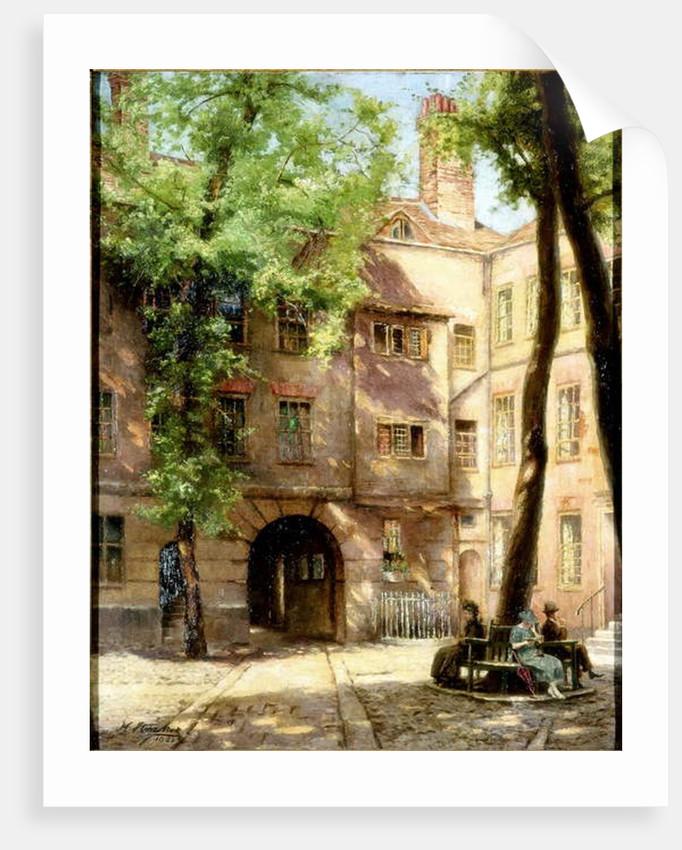 Hanover Square, 1922 by Henry Straker