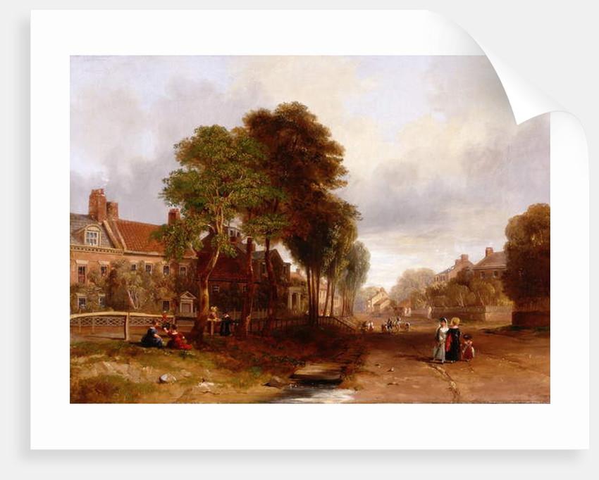 Westoe Village, 1835 by John Wilson Carmichael