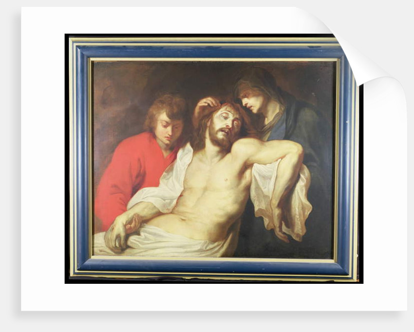 The Lamentation over the Dead Christ with the Virgin and St. John by Peter Paul Rubens