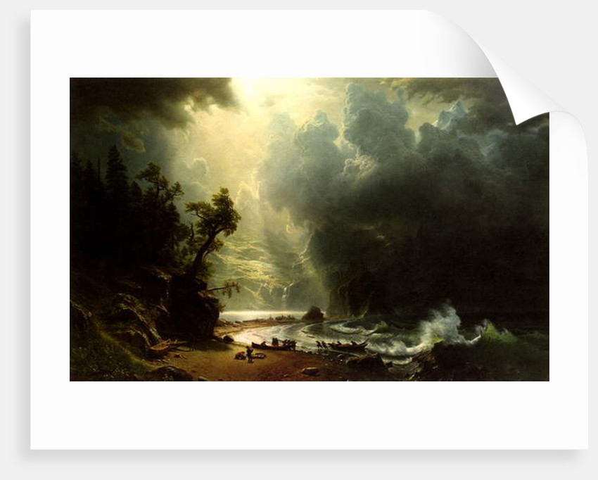 Puget Sound on the Pacific Coast, 1870 by Albert Bierstadt