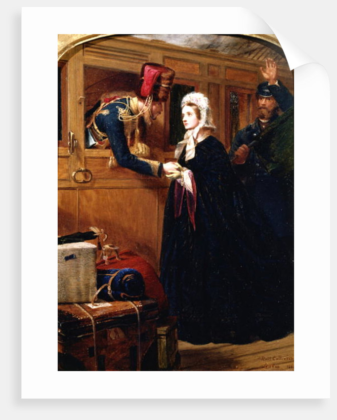 Recalled on Service, 1863 by Robert Collinson