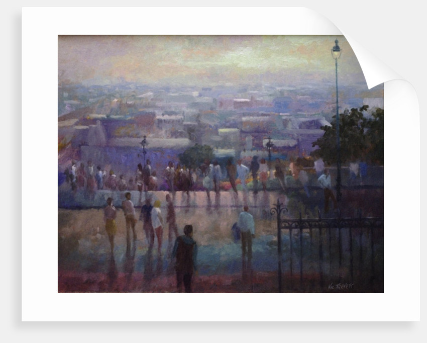 From the steps of the Sacre Coeur, 1992 by Vic Trevett