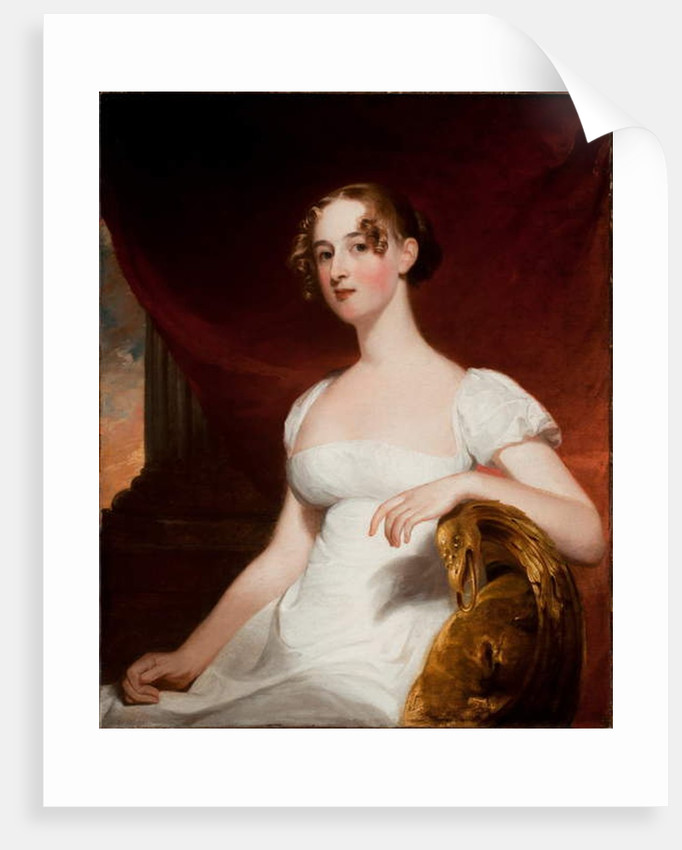 Portrait of Margaret Siddons Kintzing, 1812 by Thomas Sully