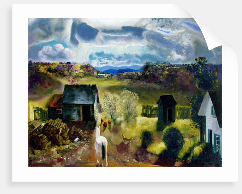 The White Horse by George Wesley Bellows