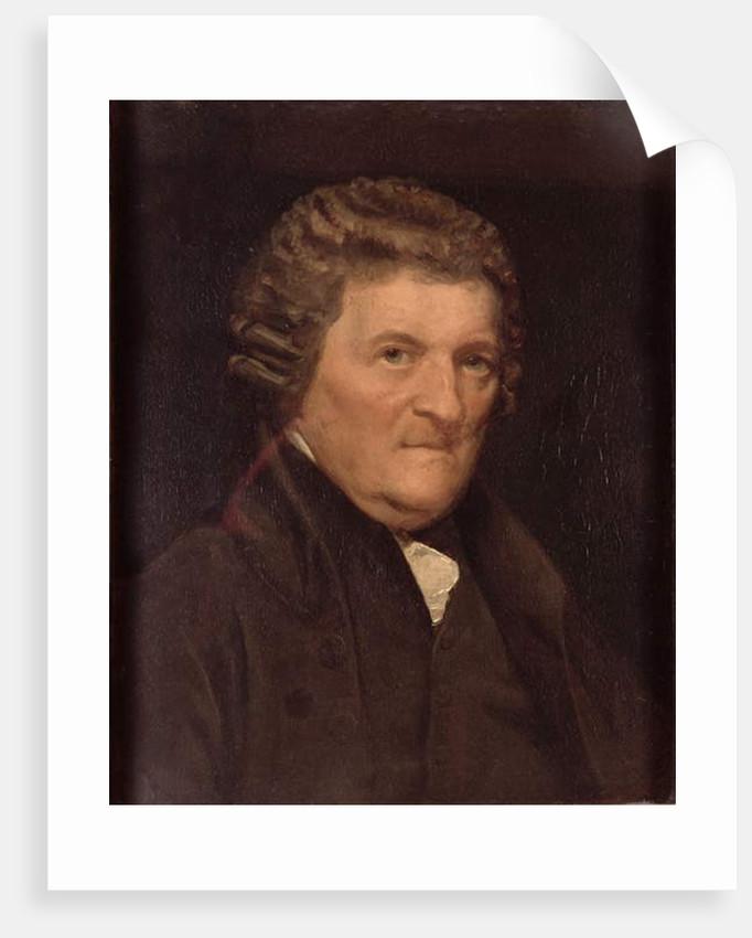 Alexander Cumming, Freeman of the Clockmakers' Company by Samuel Drummond
