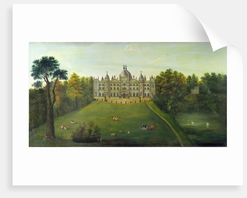 Tong Castle by English School