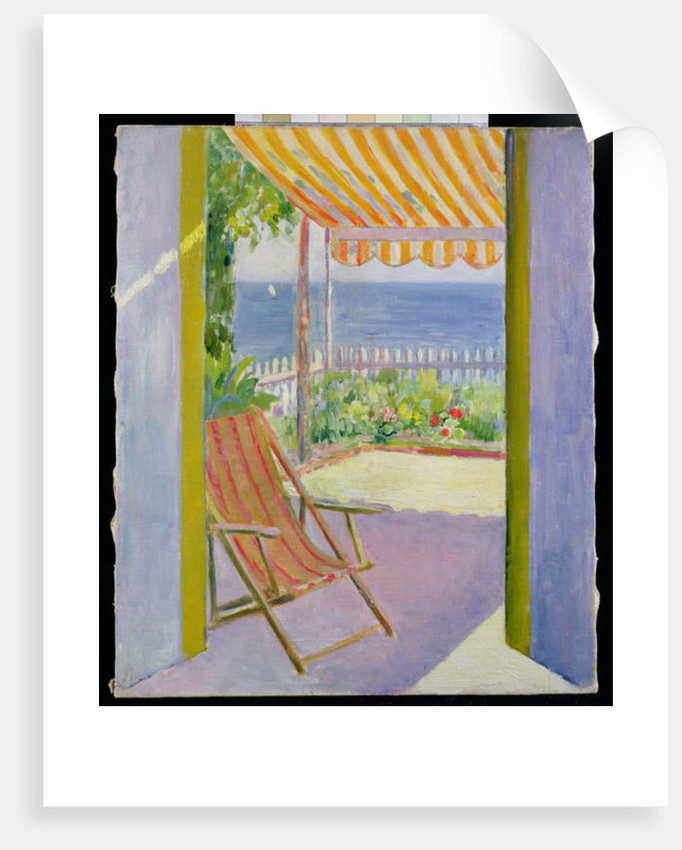 The Terrace, D'Arcachon by Mildred Bendall
